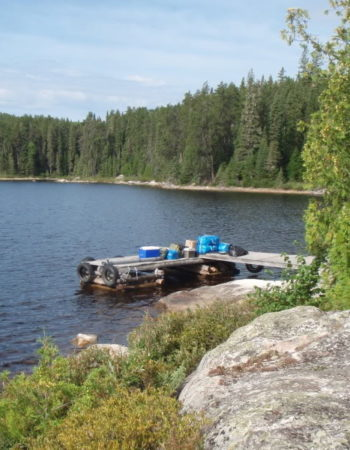 Air-Dale Fishing & Hunting Outpost on Abbey Lake