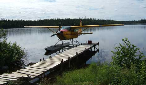 Air Cochrane Outpost on Audrey Lake