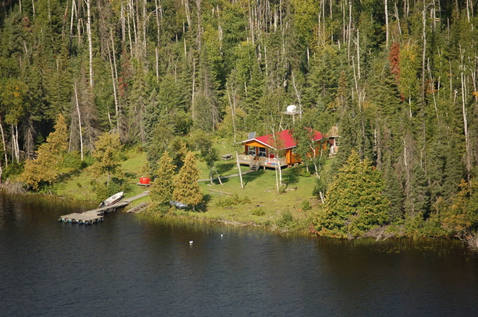 Mattice Lake Outfitters Outpost on Auger Lake