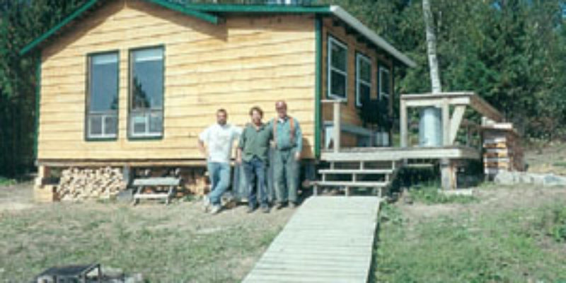 Air-Dale Fishing & Hunting Outpost on Fred Lake