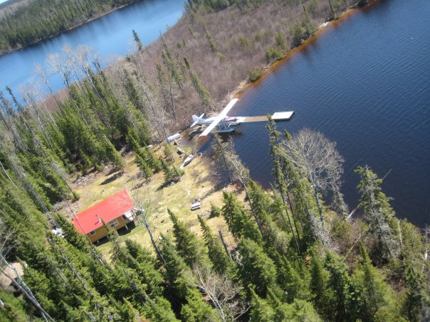 Mattice Lake Outfitters Outpost on Guerin Lake