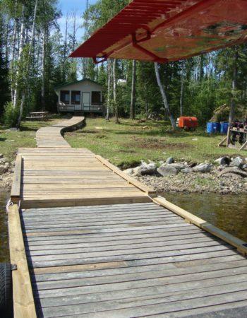 Mattice Lake Outfitters Outpost on Luella Lake