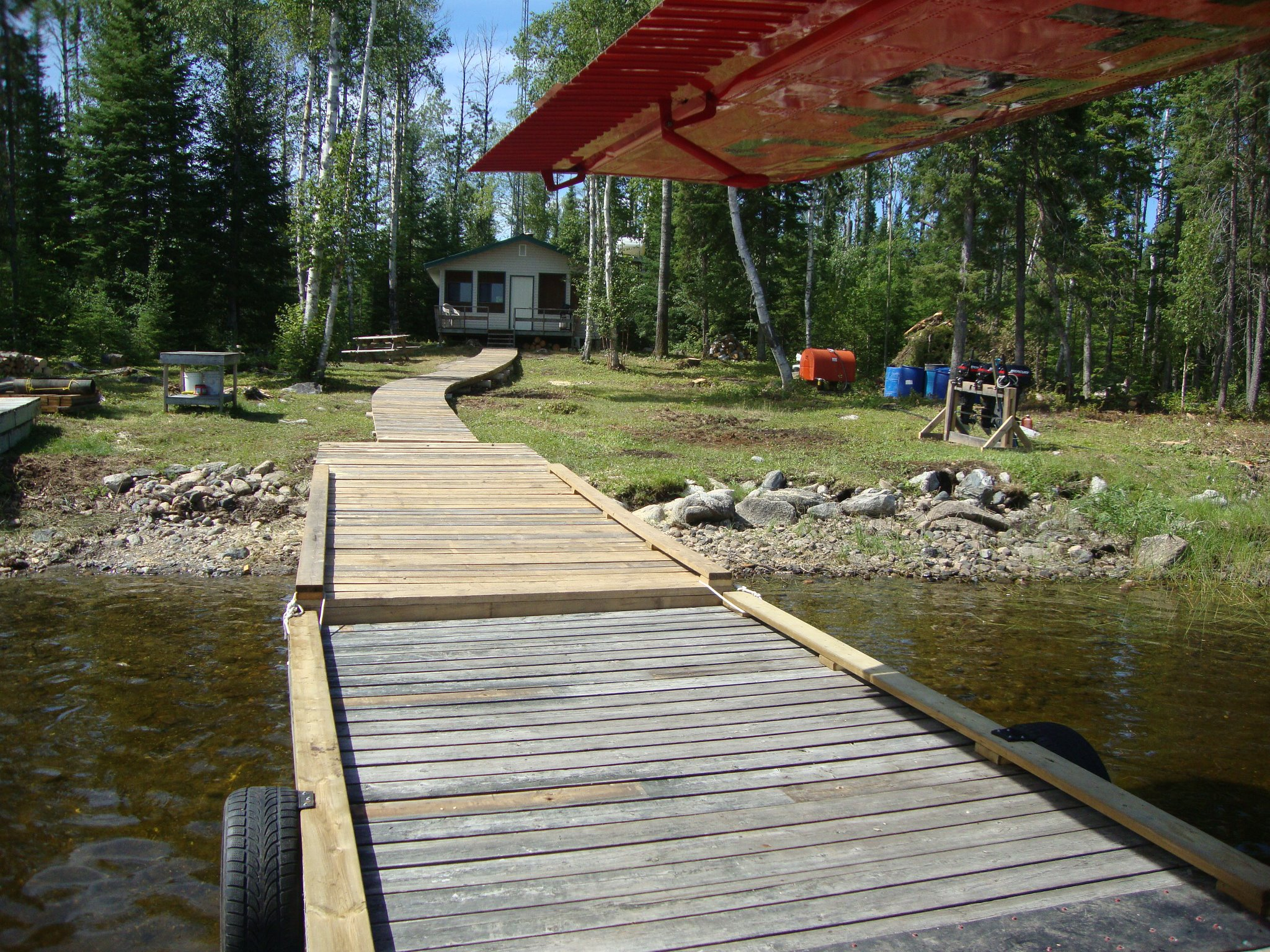 Mattice Lake Outfitters Outpost on Luella Lake