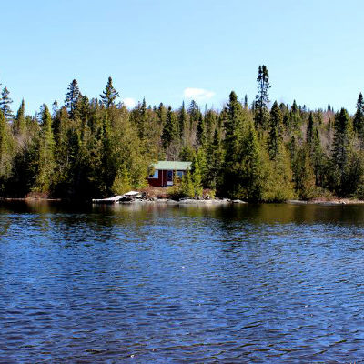 Air-Dale Fishing & Hunting Outpost on Missing Lake