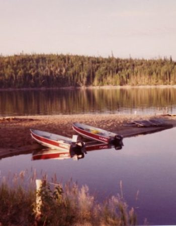 Mattice Lake Outfitters Outpost on Mojikit Lake