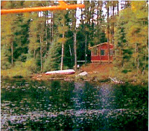 Air-Dale Hunting & Fishing Outpost on Narrow Lake