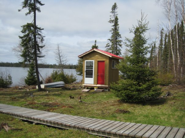 Mattice Lake Outfitters Outpost on Vick Lake