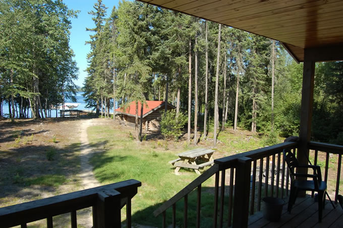 Mattice Lake Outfitters Outpost on Weese Lake