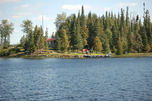 Mattice Lake Outfitters Outpost on Bellsmith Lake