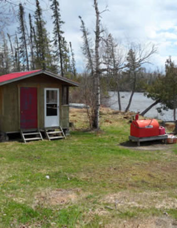 Mattice Lake Outfitters Outpost on Kagianagami Lake