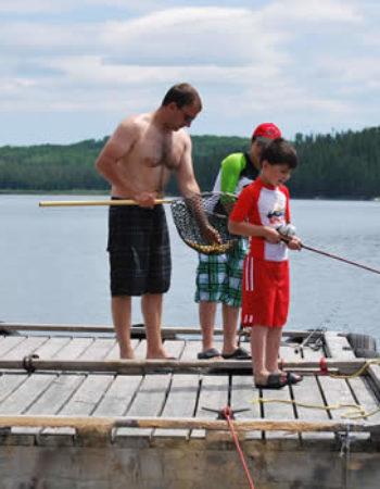 Mattice Lake Outfitters Mini-Lodge on Ogoki Reservoir