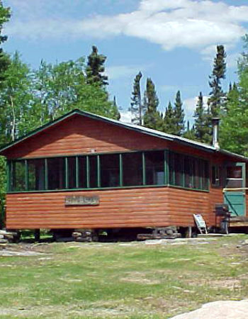 Showalter's Fly-In Outpost on Apps Lake