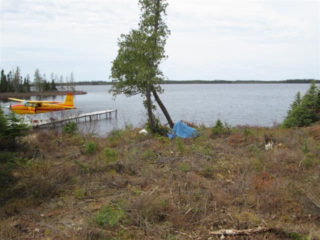 Air Cochrane Outpost on Border Lake