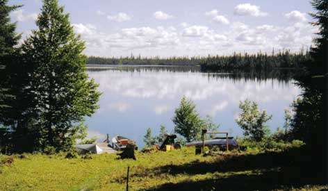 Air Cochrane Outpost on Brayley Lake