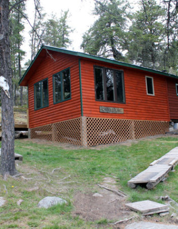 Showalter's Fly-In Outpost on Carroll Lake
