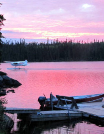 Big Hook Wilderness Camps Mini-Lodge on Central Lake