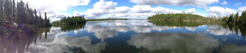 Showalter's Fly-In Outpost on Cherrington Lake