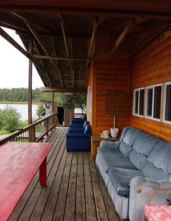 Slate Falls Eagle Island Central Outpost on Lake St.Joseph