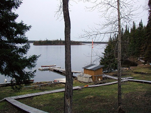Air Cochrane Outpost on Edgar Lake