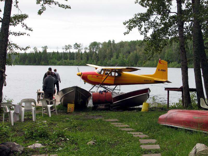 Air Cochrane Outpost on Floodwood Lake