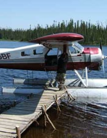 Air Cochrane Outpost on French Lake