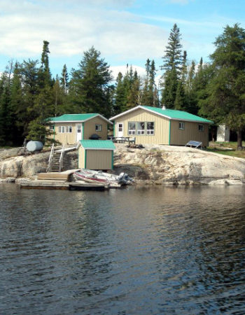Showalter's Fly-In Outpost on Hammerhead Lake