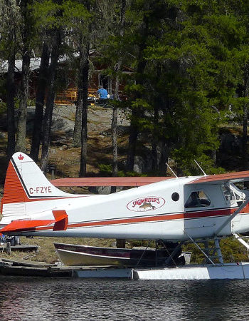 Showalter's Fly-In Outpost on Irwin Lake