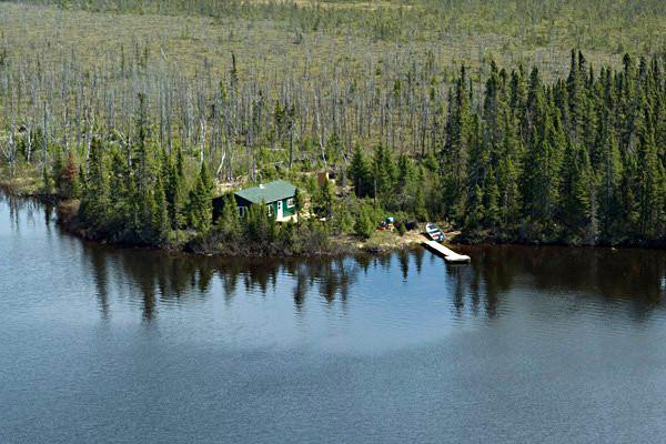 Air Cochrane Outpost on SW Kesagami Lake