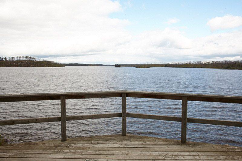 Nestor Falls Fly-In Larus Bay Outpost on Larus Lake