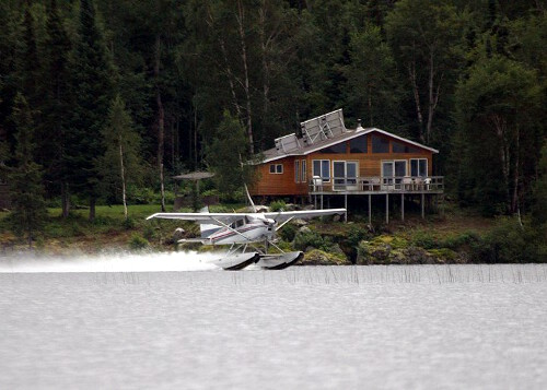 Nestor Falls Fly-In Larus Bay Outpost on Larus Lake