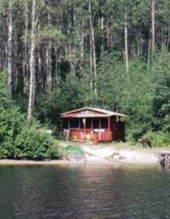 Air Cochrane Outpost on Magiskan Lake