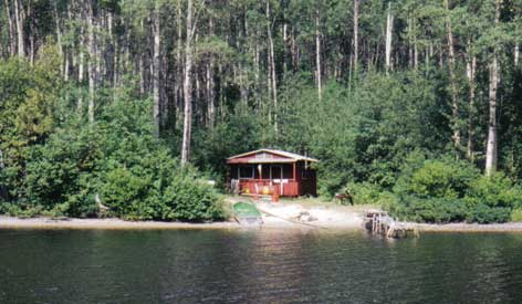 Air Cochrane Outpost on Magiskan Lake