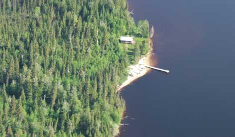 Air Cochrane Outpost on Mikwam Lake