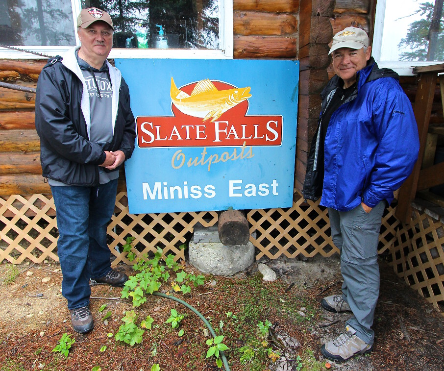 Slate Falls East Outpost on Miniss Lake