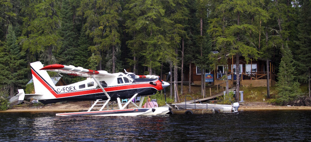 Slate Falls Outposts East Outpost on Miniss Lake