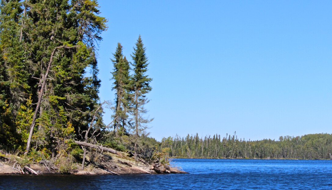 Slate Falls Outposts West Outpost on Miniss Lake