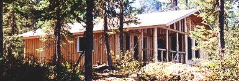 Leuenberger's Wilderness Outpost on Muskrat Lake