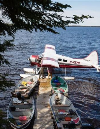 Air Cochrane Penninsula Outpost on Nettogami Lake