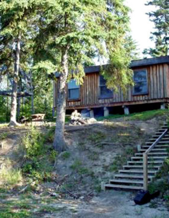 Leuenberger's Wilderness Outpost on Percy Lake