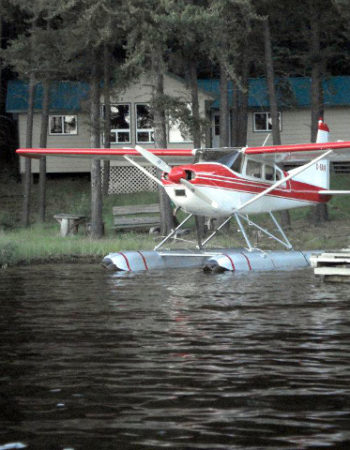 Showalter's Fly-In Outpost on Pine Needle Lake