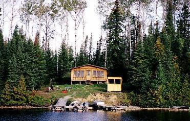 Leuenberger's Wilderness Outpost on Samuelson Lake