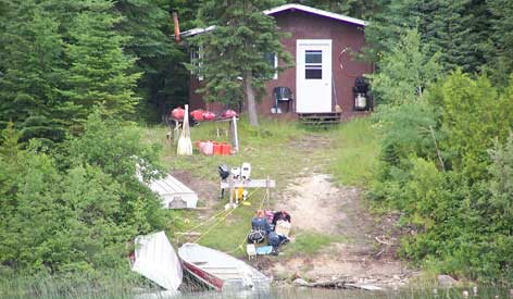 Air Cochrane Outpost on Sand Lake