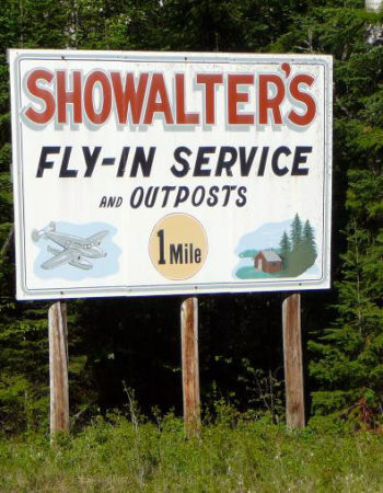 Showalter's Fly-In Outposts