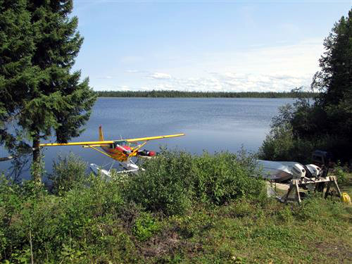 Air Cochrane Outpost on Snare Lake