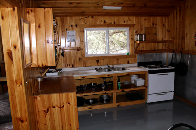 Showalter's Fly-In South Rapids Outpost on Deer Lake