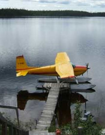 Air Cochrane Outpost on Today Lake