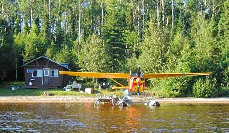 Air Cochrane Outpost on Twopeak Lake