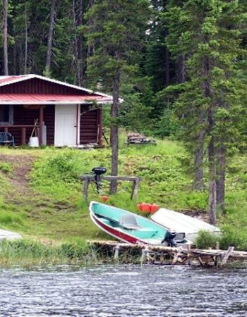 Air Cochrane Outpost on Verena Lake