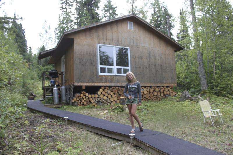Buck Lake Wilderness Outpost on White Owl Lake