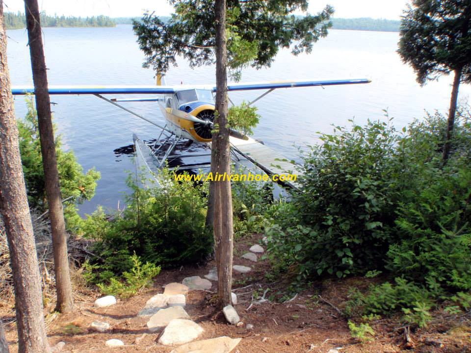 Air Ivanhoe Outpost on Arbeesee Lake